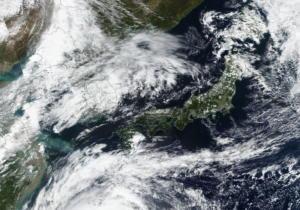 Τυφώνας και στην Ιαπωνία – Πέντε τραυματίες και πάνω από 120.000 σπίτια χωρίς ρεύμα