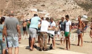 Σίφνος: Πέθανε ξαφνικά στην παραλία! Σοκαρισμένοι οι λουόμενοι [pics]
