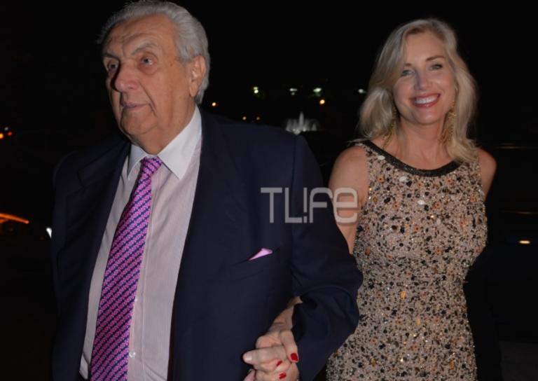 Δημήτρης Κοντομηνάς: Σπάνια κοσμική εμφάνιση με την κομψή σύντροφό του! [pics] | Newsit.gr