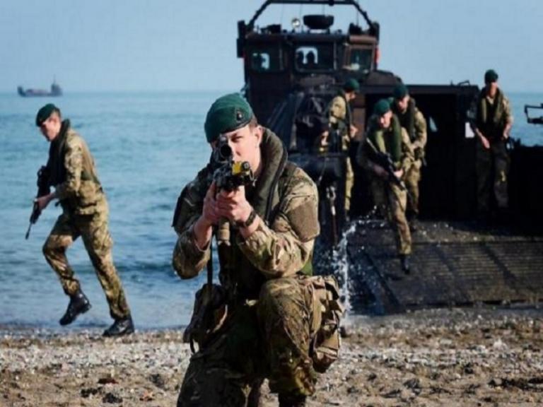 Το μήνυμα των Βρετανών Πεζοναυτών προς στην Κίνα! video | Newsit.gr