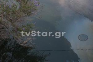 Αυτοκίνητο έπεσε μέσα σε κανάλι στην Κωπαΐδα