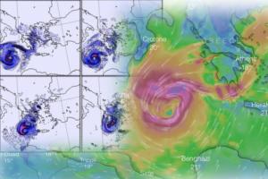 Καιρός: «Σαρώνει» την χώρα ο Ζορμπάς – Έκτακτο δελτίο για «μανιασμένους» ανέμους – LIVE εικόνα