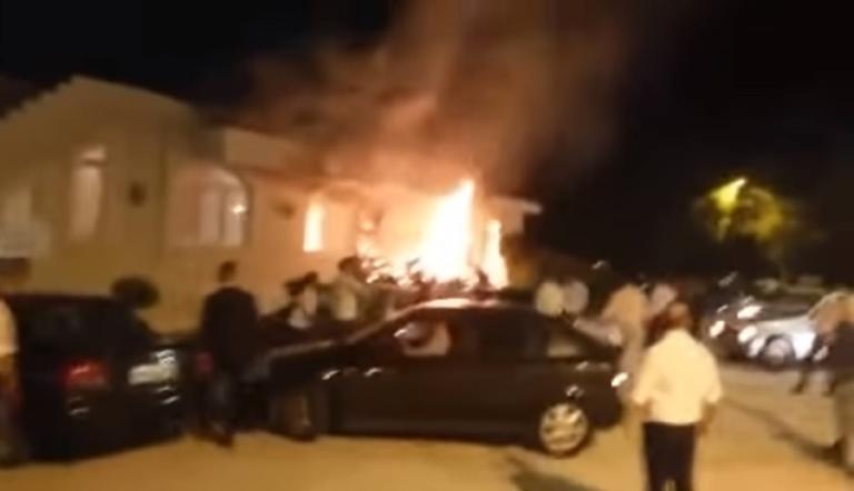 Κάηκε το… πελεκούδι! Μεγάλη φωτιά σε γαμήλιο γλέντι στη Λάρισα – video | Newsit.gr