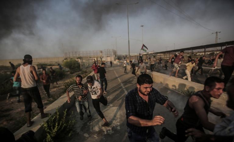 Έξι Παλαιστίνιοι νεκροί στη λωρίδα της Γάζας