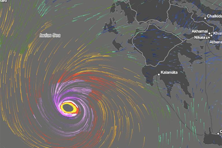 Καιρός: Ο «Ξενοφών» φέρνει σπάνιο μεσογειακό κυκλώνα! | Newsit.gr