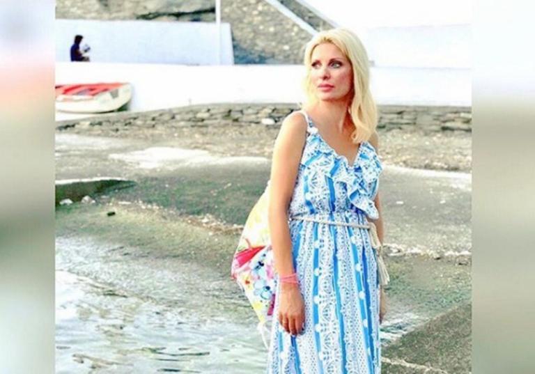 Ελένη Μενεγάκη: Έτσι περνάει το τελευταίο Σαββατοκύριακο στην Άνδρο! [pics] | Newsit.gr