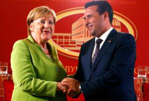 Η Μέρκελ στηρίζει την «Συμφωνία των Πρεσπών»! «Ψηφίστε ναι στο δημοψήφισμα»