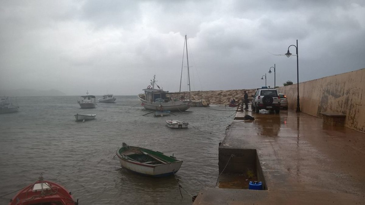 κυκλώνας Ζορμπάς Καλαμάτα