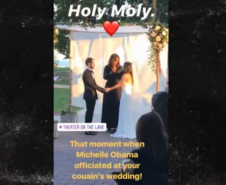 Δεν πίστευαν στα μάτια τους! Η Μισέλ Ομπάμα σε ρόλο… ιερέα! video   Newsit.gr