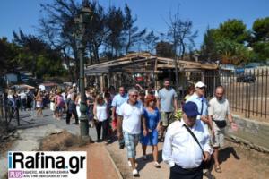 Φωτιά στο Μάτι: 40 μέρες μετά – Συγκίνηση στο μνημόσυνο για τα θύματα της εθνικής τραγωδίας