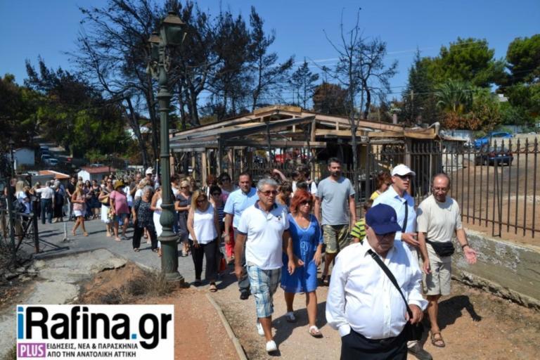 Φωτιά στο Μάτι: 40 μέρες μετά – Συγκίνηση στο μνημόσυνο για τα θύματα της εθνικής τραγωδίας | Newsit.gr