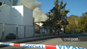Κρήτη: Ψάχνουν λύση για τους φοιτητές του Πανεπιστημίου μετά τη φωτιά