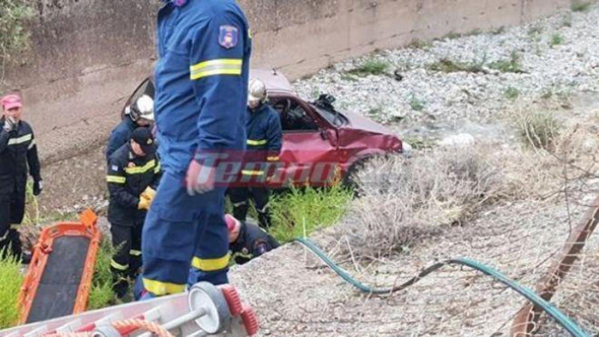 Πάτρα: Ηλικιωμένος έπεσε με το αυτοκίνητο στο ποτάμι   Newsit.gr
