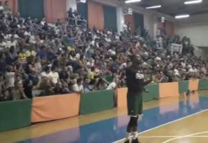 Παναθηναϊκή «τρέλα» στο Πήλιο! «Χάζεψε» ο Τόμας με τους 700 οπαδούς στην προπόνηση – video
