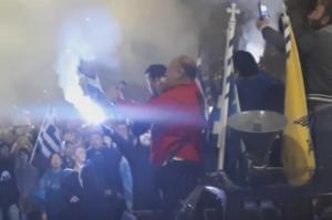 Θεσσαλονίκη: Πορεία για τη Μακεδονία – Φραστικό επεισόδιο Μπουτάρη με πολίτη – Τι του ζήτησε να πει!
