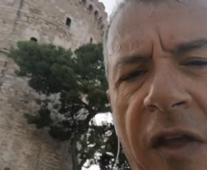 Θεσσαλονίκη: Η «καλημέρα» που εκνεύρισε τον Σταύρο Θεοδωράκη – video