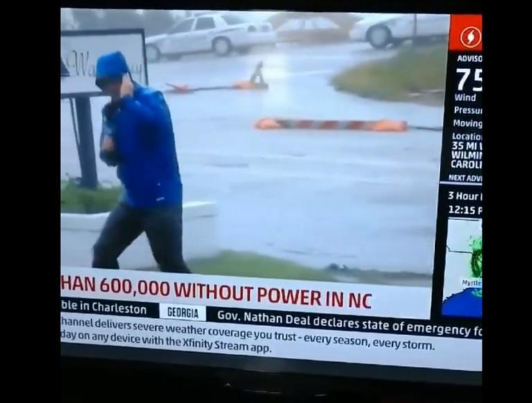 Κυκλώνας Φλόρενς: Και το Όσκαρ πρώτου ανδρικού ρόλου πάει στον… Νεϊμάρ της δημοσιογραφίας! video | Newsit.gr