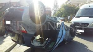 Χανιά: Τούμπαρε αυτοκίνητο με μητέρα και παιδιά!