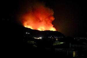 Σάμος: Ανεξέλεγκτη η φωτιά! Μεγάλη επιχείρηση της Πυροσβεστικής – video