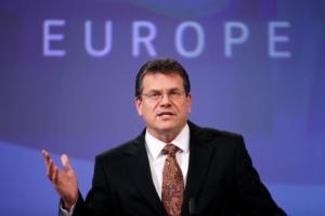 Υποψήφιος για την προεδρία της Κομισιόν ο Σλοβάκος Μάρος Σέφκοβιτς