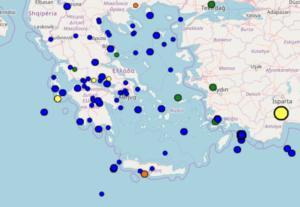 Σεισμός στην Πάτρα – Τώρα τι καταγράφουν live οι σεισμογράφοι