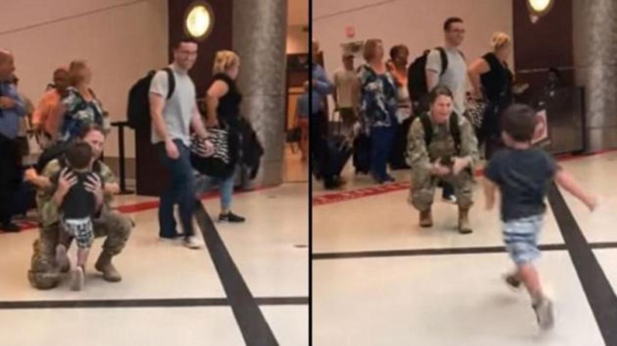 Η συγκινητική στιγμή που μητέρα στρατιωτικός σμίγει μετά από μήνες με το γιο της! [pic, vid]   Newsit.gr