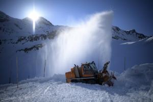 Η Ελβετία αρχίζει και… ξεμένει από χιόνι!