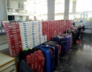 Ηράκλειο: Γέμισε το αεροδρόμιο με λαθραία τσιγάρα