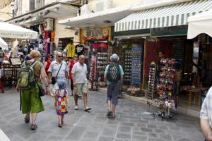 Αυξήθηκε ο αριθμός των τουριστών στο επτάμηνο Ιανουαρίου – Ιουλίου
