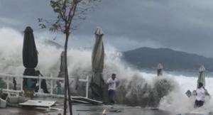 Εικόνες καταστροφής στην Καλαμάτα