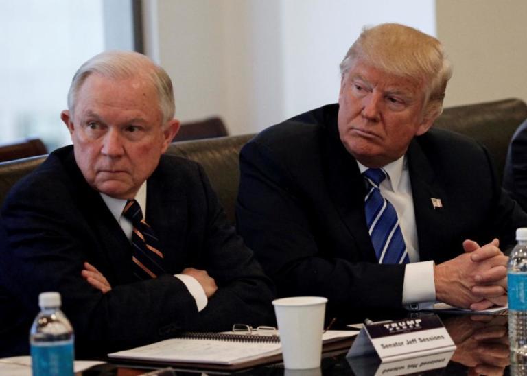ΗΠΑ: Παραιτήθηκε ο υπουργός Δικαιοσύνης Τζεφ Σέσιονς