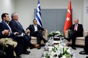 Τσίπρας – Ερντογάν: Το πρώτο τετ α τετ μετά την απελευθέρωση των Ελλήνων στρατιωτικών