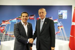 """""""Ψήνεται"""" συνάντηση Τσίπρα – Ερντογάν"""