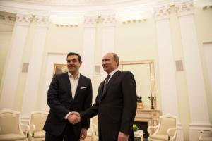 Κρεμλίνο: Καμία συζήτηση ακόμα για επίσκεψη Τσίπρα στη Μόσχα