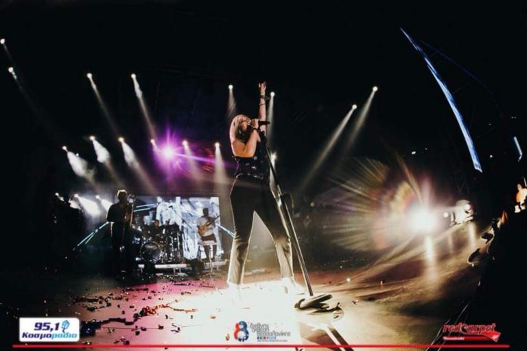 Η Άννα Βίσση έβαλε… φωτιά στη ΔΕΘ! | Newsit.gr