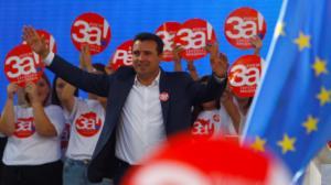 Προκαλεί ξανά ο Ζάεφ για το δημοψήφισμα: Ψηφίστε «ναι» για μια «ευρωπαϊκή Μακεδονία»! Video
