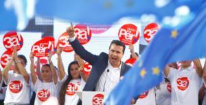 Ζόρια για τον Ζάεφ στο δημοψήφισμα για τη Συμφωνία των Πρεσπών! Τι δείχνει δημοσκόπηση