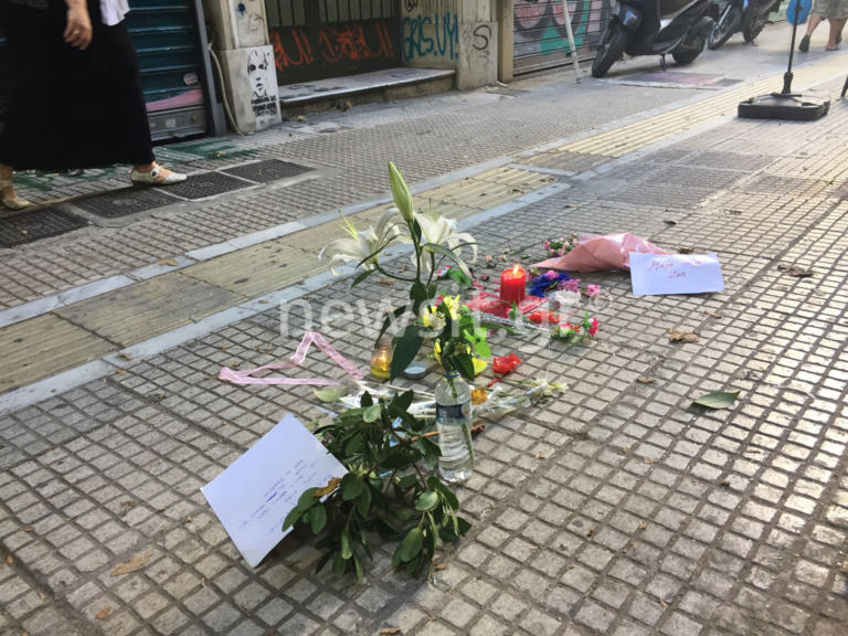 d87a693842 Ζακ Κωστόπουλος  Λίγα λουλούδια στο σημείο της άνανδρης επίθεσης – pics