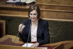 Μυρσίνη Ζορμπά: Άτοπη η απεργία των εργαζομένων του υπουργείου Πολιτισμού