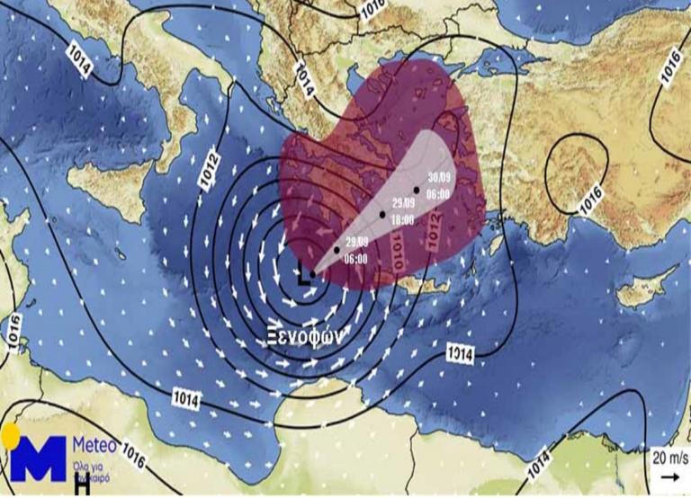 Καιρός: Ο κυκλώνας Ζορμπάς είναι εδώ! Καρέ – καρέ το πέρασμά του | Newsit.gr