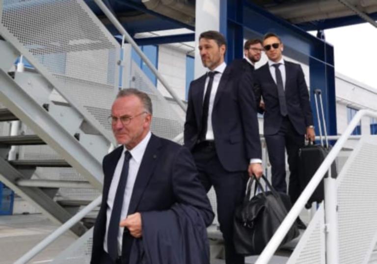 ΑΕΚ – Μπάγερν: Έφτασαν στην Αθήνα οι Βαυαροί! [pic] | Newsit.gr