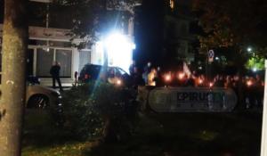Συγκέντρωση έξω από το Γενικό Προξενείο της Αλβανίας στα Ιωάννινα για τον θάνατο του Κατσίφα! [video]