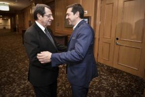 Τσίπρας – Ανασταστιάδης – Αλ Σίσι στην Ελούντα για την τριμερή