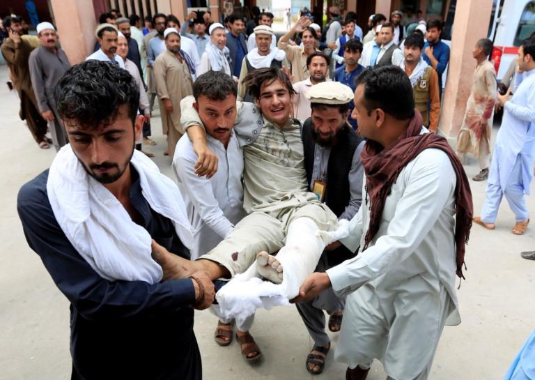 Αφγανιστάν: Σφαγή σε προεκλογική συγκέντρωση – Νεκρός κι ένας πολιτικός