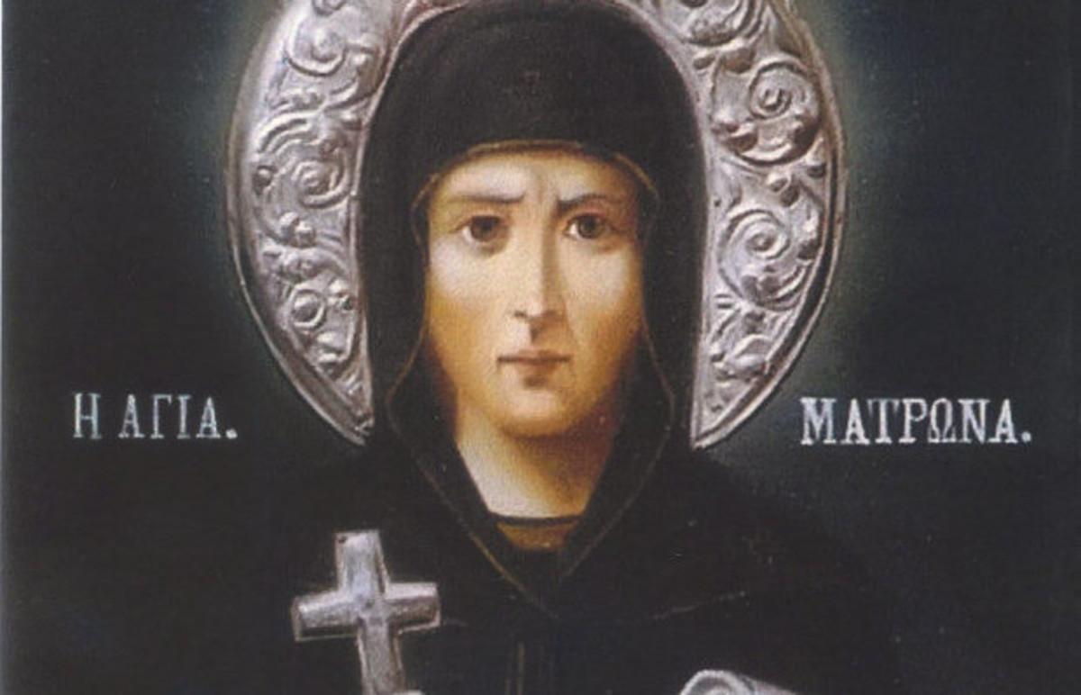 Οσία Ματρώνα ή Αγία Κυρά- Γιατί σήμερα εορτάζουν και οι Κερασιές | Newsit.gr