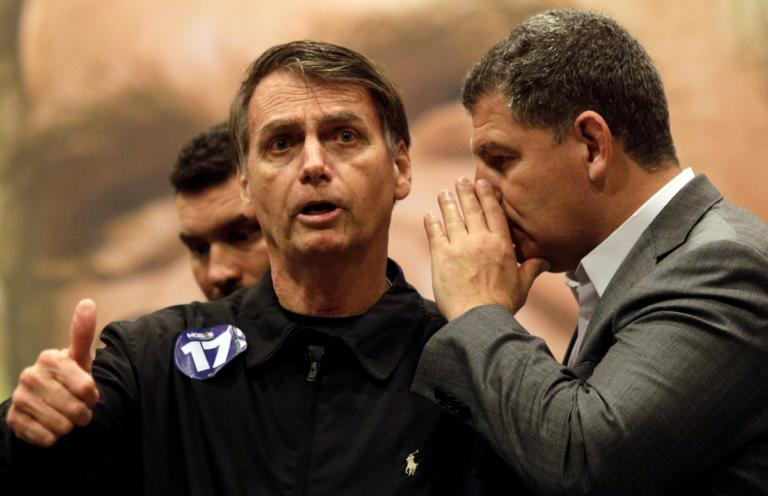 Ο Μπολσονάρο απειλεί τη δημοκρατία προειδοποιεί ο πρόεδρος των Εργατικών στη Βραζιλία