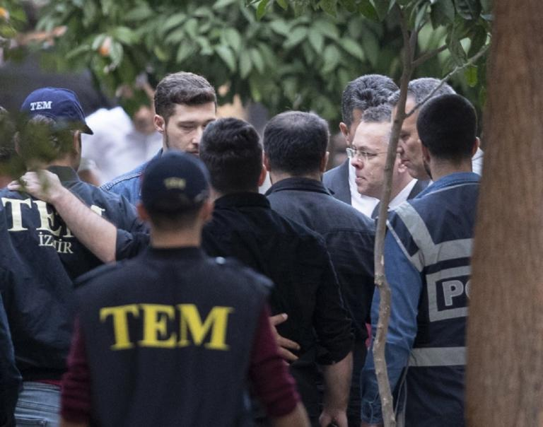 Τουρκία: Η ελευθέρωση Μπράνσον δείχνει την ανεξαρτησία της δικαιοσύνης | Newsit.gr