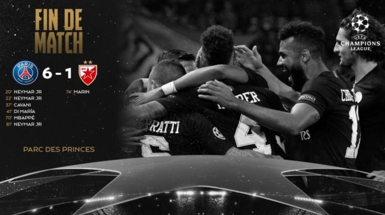 """Σκάει """"βόμβα"""" στο Champions League; """"Ύποπτο για χειραγώγηση το Παρί – Ερυθρός Αστέρας""""   Newsit.gr"""
