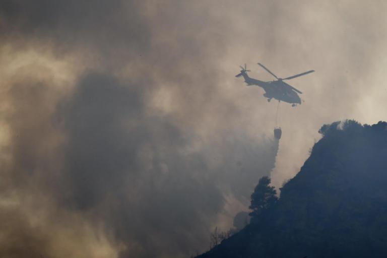 Μεγάλη φωτιά στο Ηράκλειο – Μάχη με επίγεια και εναέρια μέσα | Newsit.gr