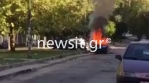 Κουκουλοφόροι στο Πολυτεχνείο – Καμμένα αυτοκίνητα – Κλεφτοπόλεμος με τα ΜΑΤ – Video